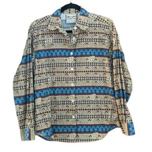 Wrangler   Vintage Western Wear   Button Down